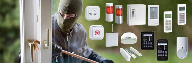 SecTeX Produkte: Alarm- und Einbruchmeldeanlagen
