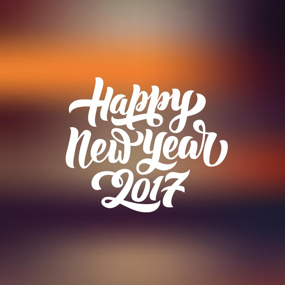 Ein gesundes, neues Jahr 2017